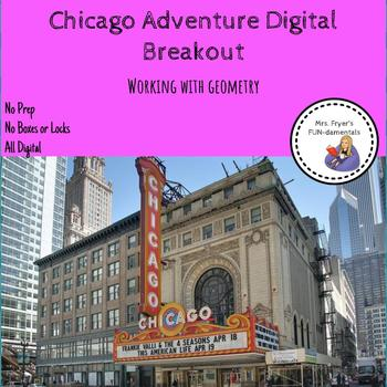 Chicago Adventure Digital Breakout Working with Geometry