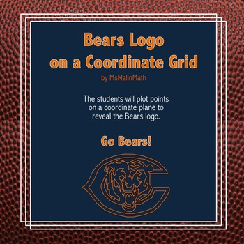 Chicago Bears Logo on the Coordinate Plane