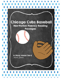 Chicago Cubs Fluency Reading Bundle
