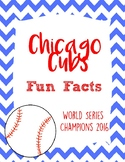 Chicago Cubs Fun Facts