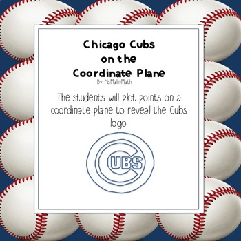 Chicago Cubs Logo on the Coordinate Plane