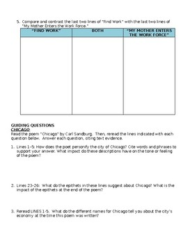 Chicago/Find Work... Comprehensive Study Guide