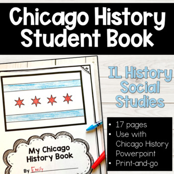 Chicago History Book for meeting Social Studies History Standards in Illinois!