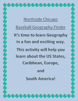 Chicago Northside Baseball Geography Finder
