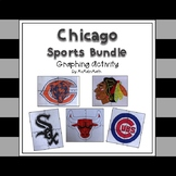 Chicago Sports Bundle - a Coordinate Plane Graphing Activity