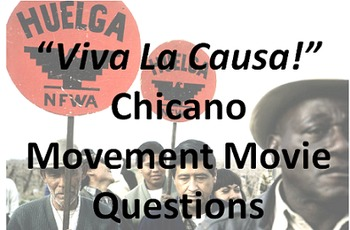 Chicano Movement Movie Questions
