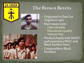 Chicano Rights Movement PowerPoint Presentation