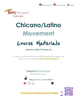 Chicano Rights |  Teacher Materials (part 2 of 2) | SpEd: Gd. 5 - Young Adult