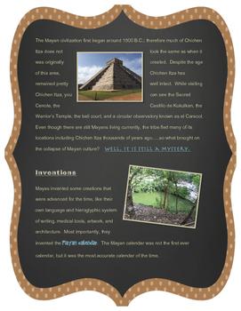 Chichen Itza Reading (English Version)