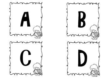 Chick Alphabet Match