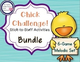 Chick Challenge Melody Game and Activities: Bundled Set