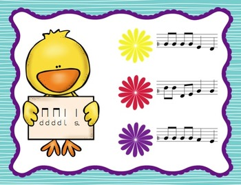 Chick Challenge Melody Game and Activities: Low So