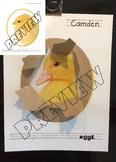 Chick Chickens Ducks Duckling Egg Hatch Hatching Craft Activity Worksheet