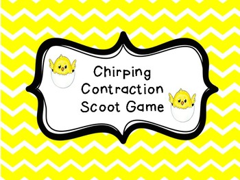 Chick Contraction Scoot Game