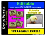 Chick - Expandable & Editable Strip Puzzle w/ Multiple Options *o