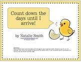 Chick Hatching Calendar - blank