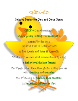 Chick-Ku- Science Poetry for You and Your Peeps