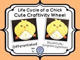 Chick Life Cycle Wheel Craftivity {BILINGUAL - SUPER CUTE!}