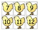 Chick Number Cards/Calendar Cards
