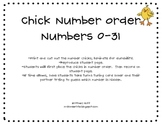 Chick Number Order (0-31)