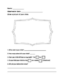 Chick Observation worksheet.