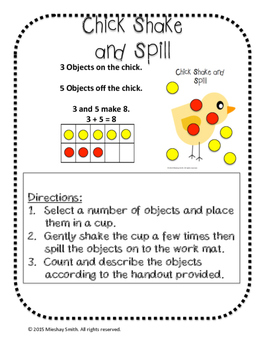 Chick Shake and Spill