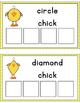 Chick Shape Sorting