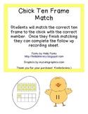 Chick Ten Frame Match (teens)