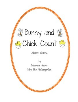 Chick and Bunny Addition Games