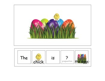 Chick and the Eggs Preposition Book