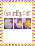 Chick in an Egg Craft (Easter)