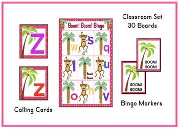 Chicka Boom Bingo Classroom Set & Calling Cards Letter Recognition Alphabet
