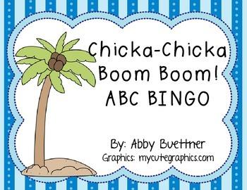 Chicka Boom Boom Bingo