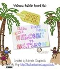 Chicka Boom Bulletin Board set with cute monkey craft