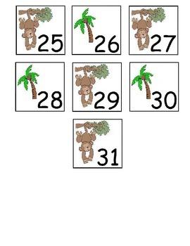 Chicka Boom Calendar Pieces