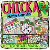 Chicka Boom Math Games- Subitizing, Shapes, Numerals, 10 F