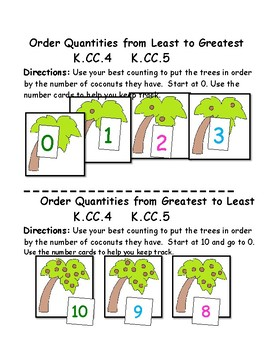 Chicka Chicka 1, 2, 3 Math Centers: 10 Centers:  Core Aligned!