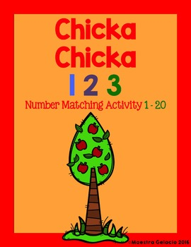 Chicka Chicka 123 English