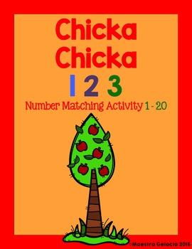 Chicka Chicka 123 Spanish
