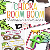 CHICKA CHICKA BOOM BOOM ACTIVITIES FOR PRESCHOOL, PRE-K AN