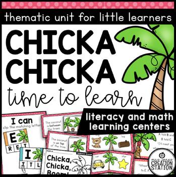 Chicka Chicka ABC Fun: Literacy Activities