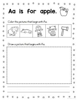 Alphabet Handwriting Practice Book
