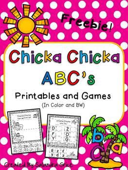 Chicka Chicka ABC's- Freebie!