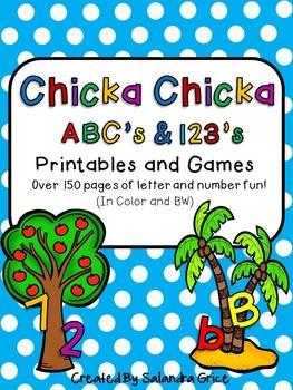 Chicka Chicka ABC's and 123's Bundle!