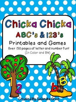 Chicka Chicka ABC's and 123's Bundle!