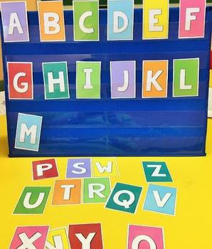 Chicka Chicka BOOM BOOM! Mini Unit, Math, Alphabet, Centers