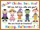 Chicka, Chicka, Boo, Hoo! ~ An Emergent Reader With Halloween Fun!