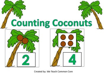 Chicka Chicka Boom Boom 123 Coconut Counting and Book Activity
