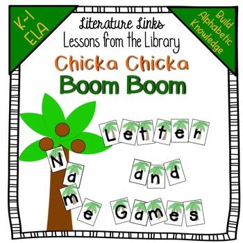 Chicka Chicka Boom Boom  - A Library Literature Links Unit