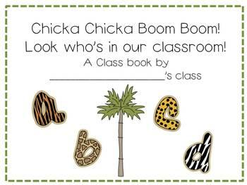 Chicka Chicka Boom Boom! {A Math and Literacy Mini Unit}